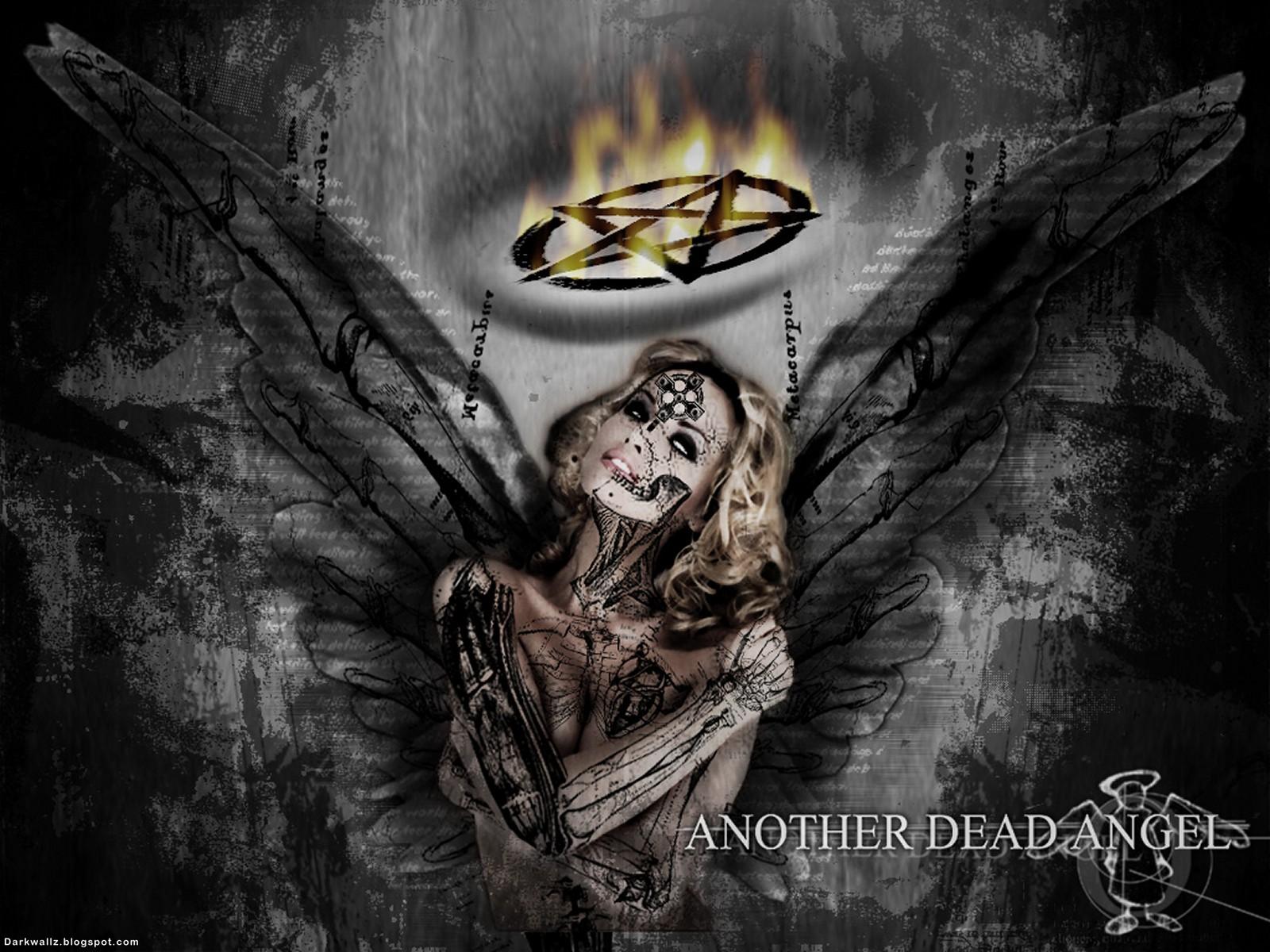 Angel And Light Dark Demon Love