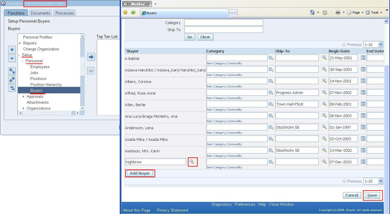 Oracle Concepts For You Setup User As A Worker To Access