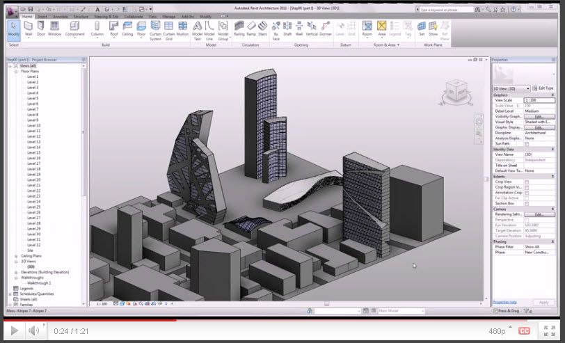 REVIT Structure Learning Curve: RAC2011- Professional Mass