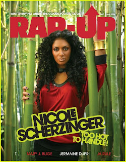 Nicole Scherzinger Rap Up Magazine pictures