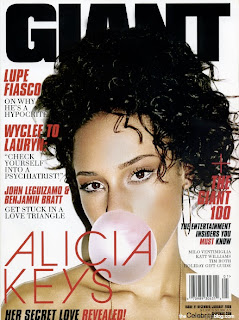 Alicia Keys - Giant Magazine pictures