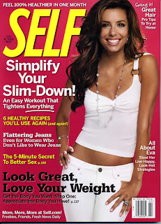 Eva Longoria Does Self Magazine pictures