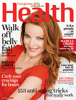 Marcia Cross Does Health Magazine