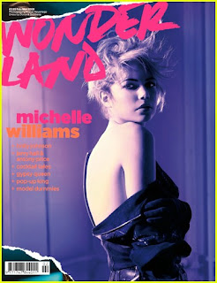 Michelle Williams in Wonderland Magazine pictures