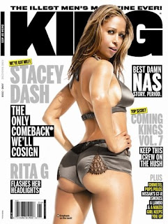 Stacey Dash graces the cover of the June issue of King Magazine.