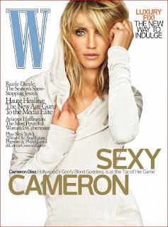 Cameron Diaz - 'W' Pictures