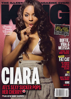 Ciara In King Magazine