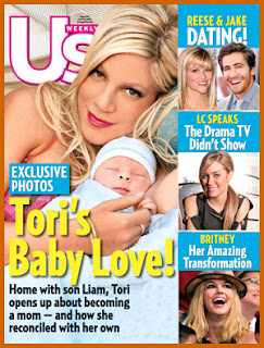 Tori Spelling's Baby Love