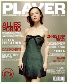 Christina Ricci looks sexy In Player Magazine