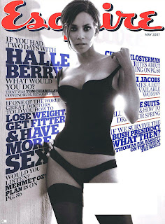 Sexy Halle Berry in Esquire Magazine