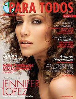 Jennifer Lopez In Para Todos Mag