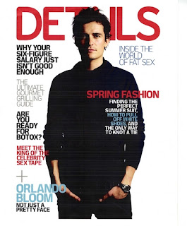 Sexy Orlando Bloom In Details Magazine