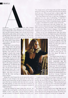 Ashlee Simpson in Harper's Bazaar May 2007 pictures