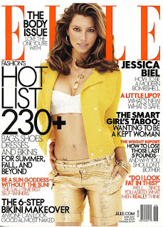 Jessica Biel Elle Magazine Photos - June 2007