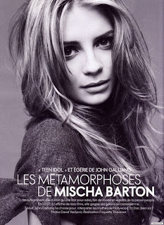 Mischa Barton Goes 'Old Hollywood Glamour' in French ELLE magazine