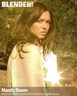 Mandy Moore In Blender Magazine pictures