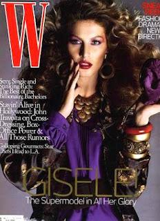 Gisele Bundchen W magazine Pictures
