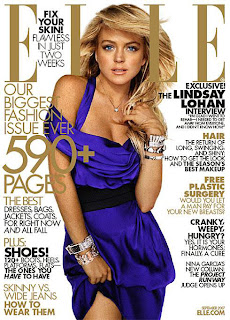 Lindsay Lohan in Elle Magazine pictures