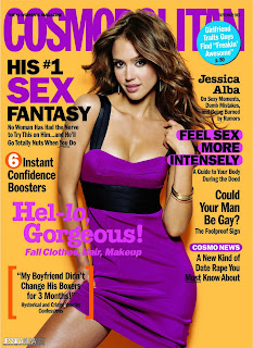 Jessica Alba Cosmopolitan Magazine September 2007 Cover