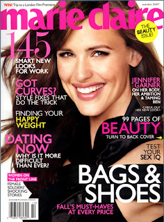 Jennifer Garner Does Marie Claire