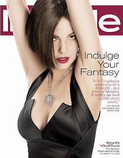 Katherine Heigl Explores Her Dark Side In Instyle Magazine Pictures