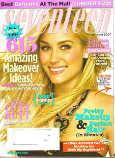 Lauren Conrad in Seventeen Magazine Pictures