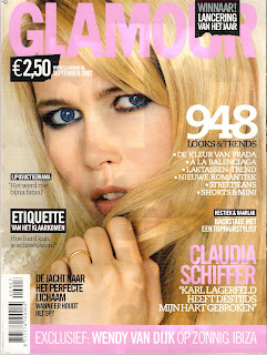 Claudia Schiffer - Glamour - September 2007 Pictures