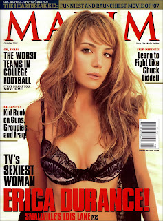 Erica Durance October 2007 Maxim Magazine Pictures