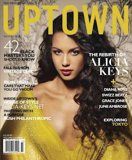 Alicia Keys in Uptown Magazine Pictures