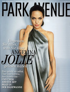 Angelina Jolie Hot Poses For Park Avenue Magazine