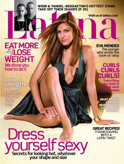 Eva Mendes In Latina Magazine Pictures