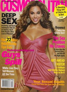 Beyonce - Cosmopolitan magazine December 2007