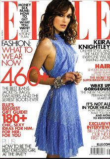 Keira Knightley Hot In Elle US December 2007