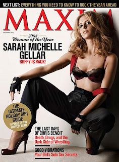 Sarah Michelle Gellar Hot Maxim Pictures