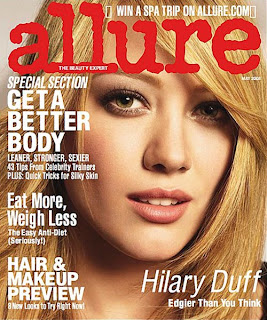 Hilary Duff In Allure Magazine Picture