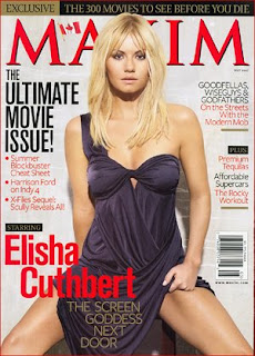 Elisha Cuthbert Hot On Maxim - Photo