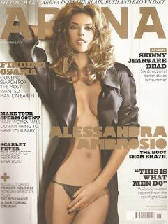 Alessandra Ambrosio - Arena magazine - June 2008