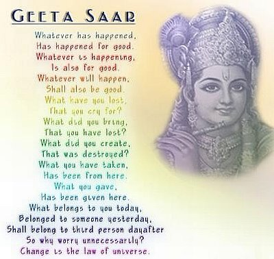 Geeta saar- My inspiration to a happy life when things go wrong