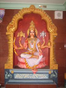 This Wonderful Idol Of Laxmi Maata Is At Laxmi Bazar