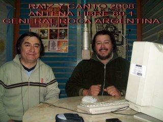 MIS AMIGOS DE RAIZ Y CANTO