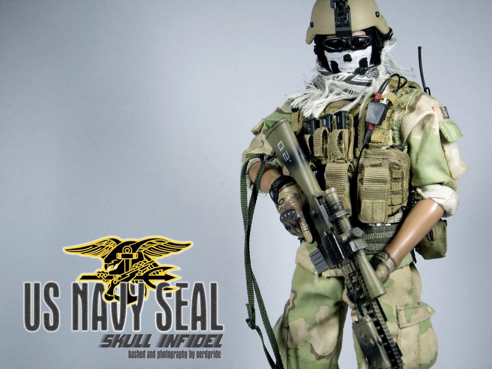 Group of Seal Team Six Logo Wallpaper