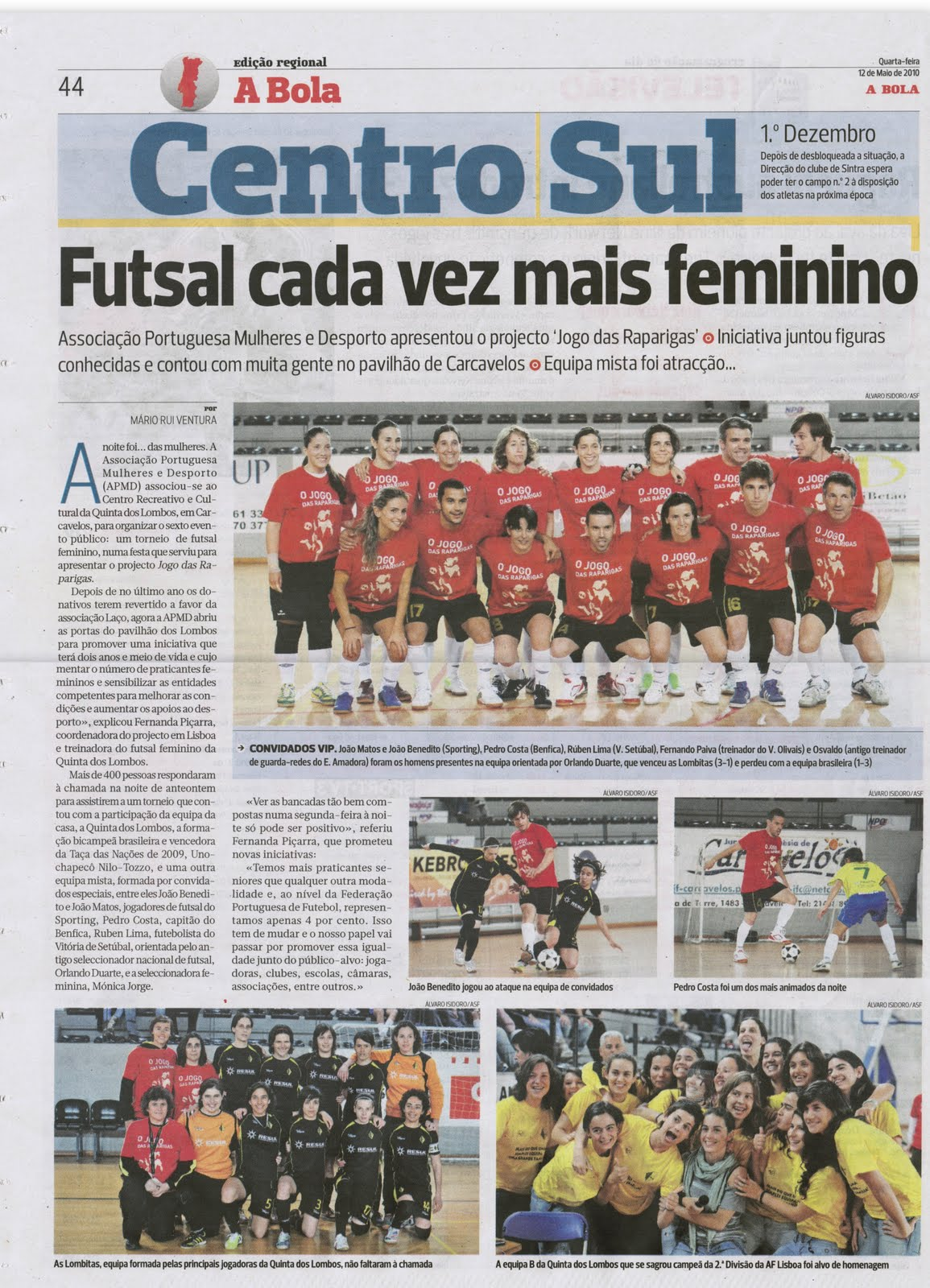 e00b8d1b3a64a Publicada por CRC Quinta dos Lombos Futsal Feminino à(s) quarta-feira
