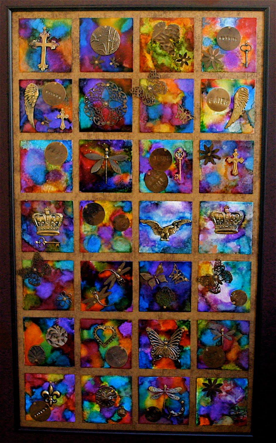 Vintaj Spring Auction Project - Finished