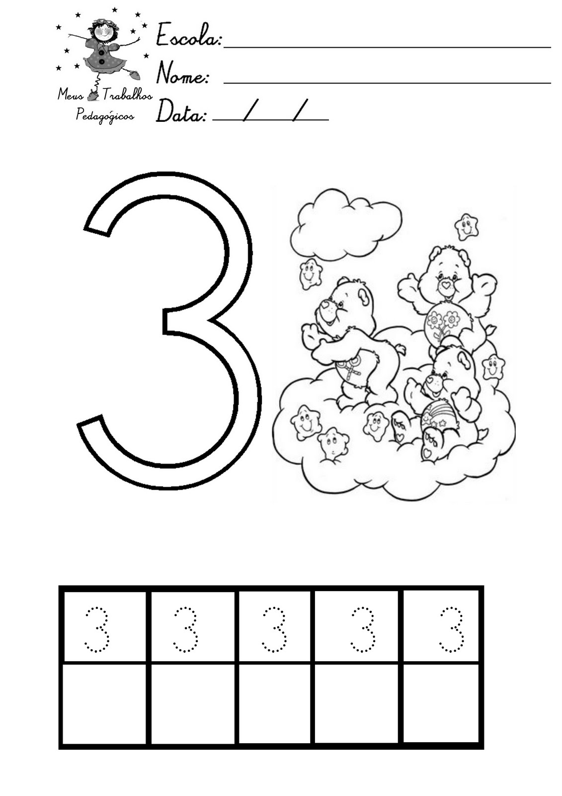 Meus Trabalhos Pedagógicos ®: Apostila Matemática