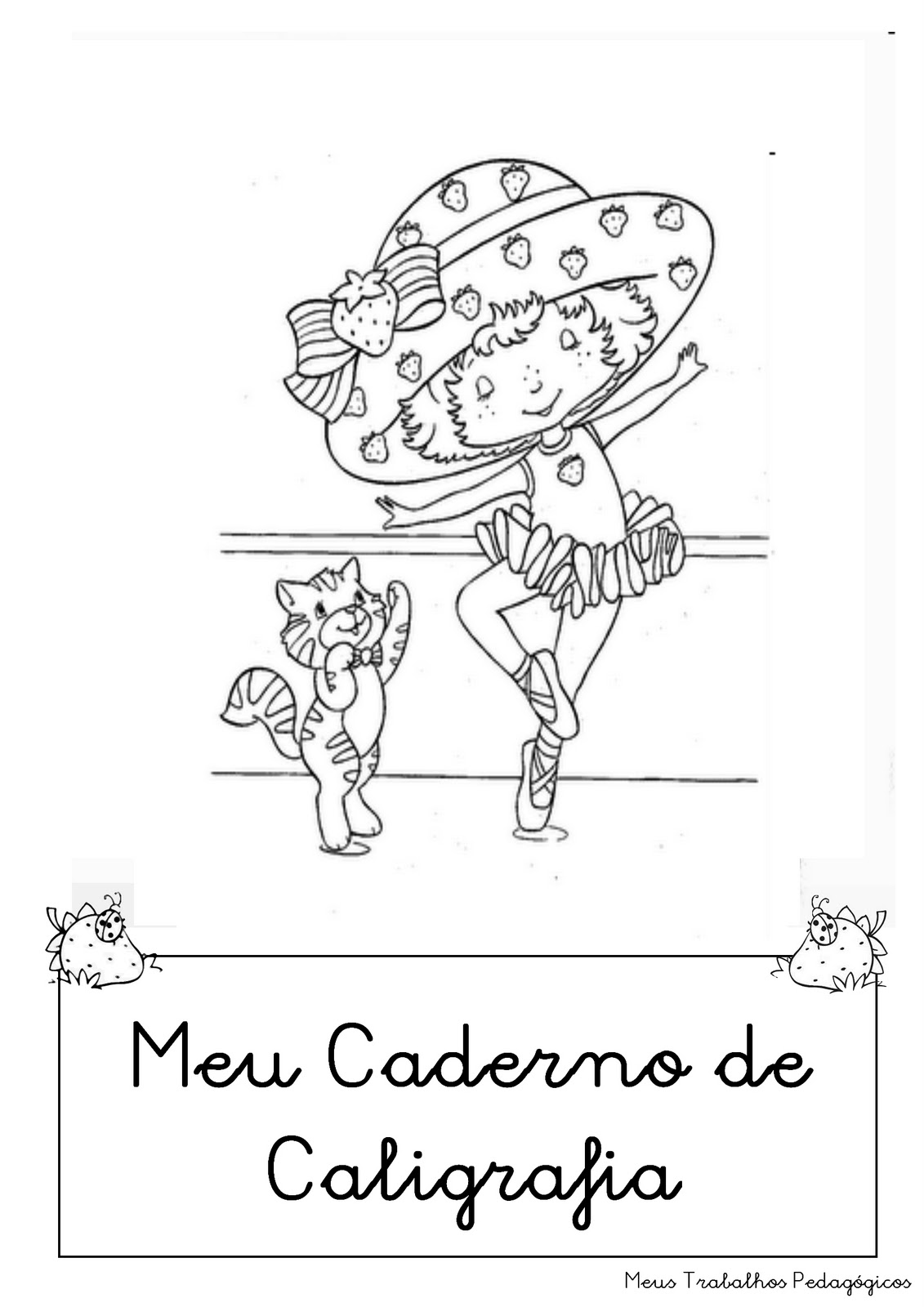 Cantinho Da Ana Modelos De Capa De Caderno