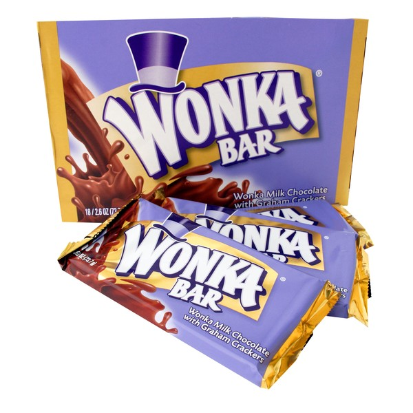 graphic about Wonka Bar Printable identify Free of charge Wonka Bars at Concentrate This 7 days - Thrifty Jinxy