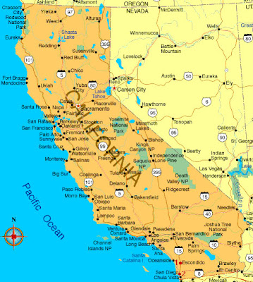 Bodies Of Water In California Map.Maps 4ever The Good The Bad And The Ugly Maps