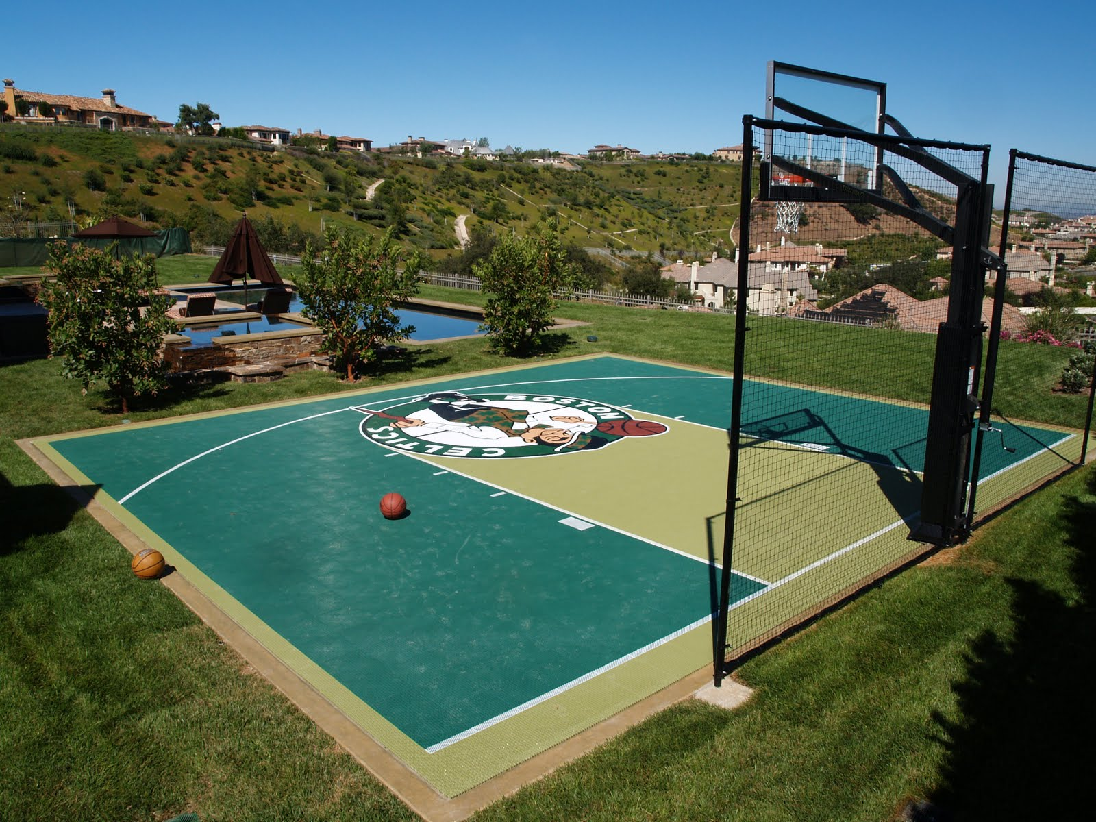 Sport Court Of Southern California Paul Pierce S Court In