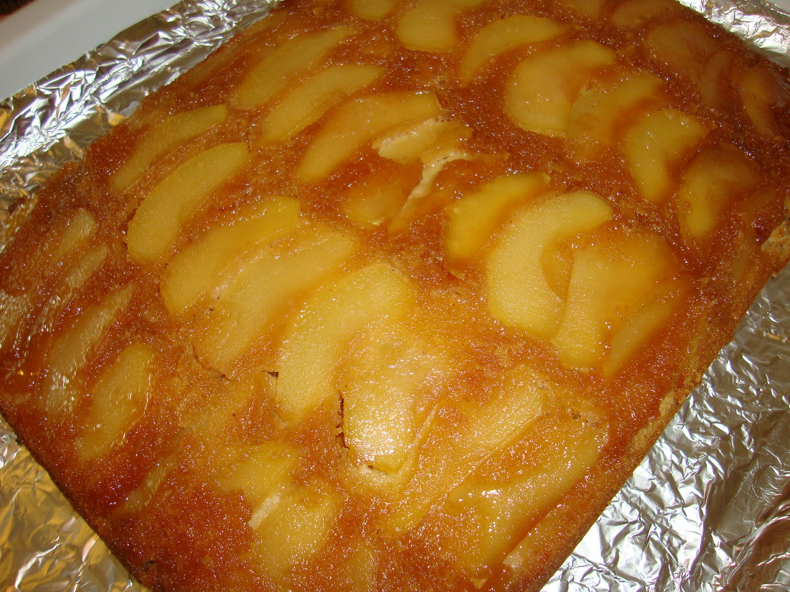 Baking And Creating With Avril Caramel Apple Upside Down Cake