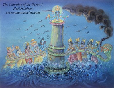 churning of ksheera sagaram